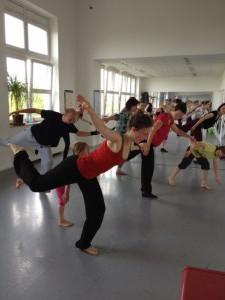 WS Jazztanz mit Antje Kaufmann 2013